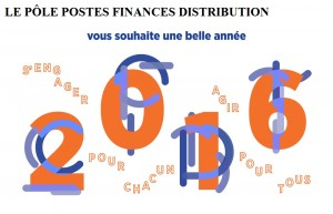 Postières-Postiers, Groupe La Poste : Happy New Year