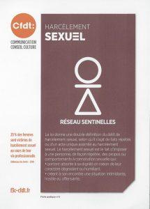 Sentinelles : le Harcèlement Sexuel