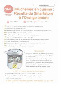 Orange : Cauchemar en cuisine : Recette du Smartstore à l'Orange amère