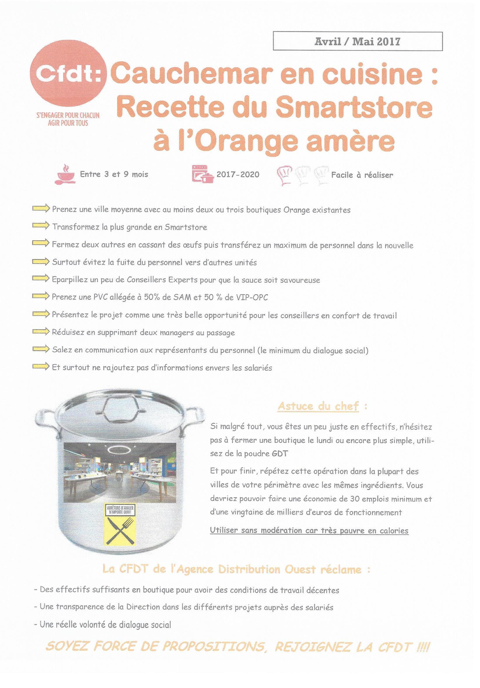 Orange cauchemar en cuisine recette du smartstore l 39 orange am re - Recette cauchemar en cuisine ...