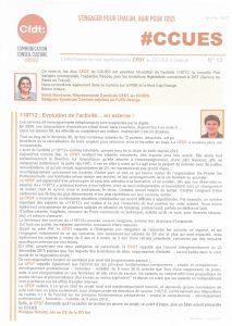 Orange : L'information de vos représentants au CCUES d'Orange n°13