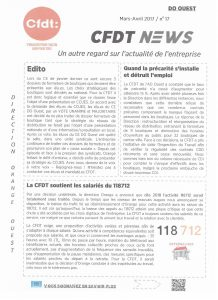 Orange : DO Ouest CFDT News n°17