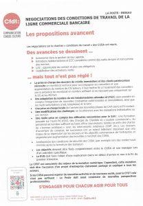 La Poste Réseau : Négociations des conditions de travail de la ligne commerciale bancaire