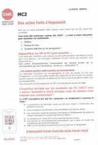 La Poste Réseau : MC2