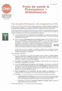 Capgemini / Frais de santé et Prévoyance : des changements en 2018